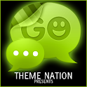 GO SMS Theme Lime Green Neon icon