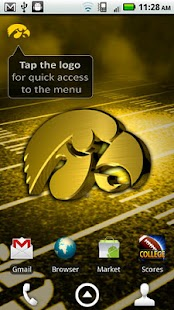 Iowa Hawkeyes Revolving WP- screenshot thumbnail