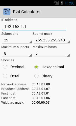 【免費工具App】IPv4 Calculator-APP點子