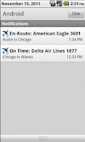 Screenshot of FlightPredictor Lite