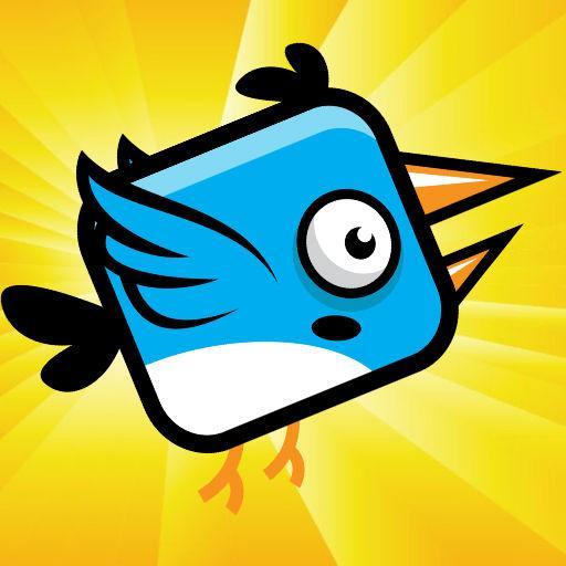 塊狀鳥超級飛行遊戲