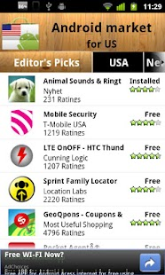 USA Android Market - screenshot thumbnail