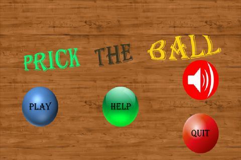 Prick The Ball