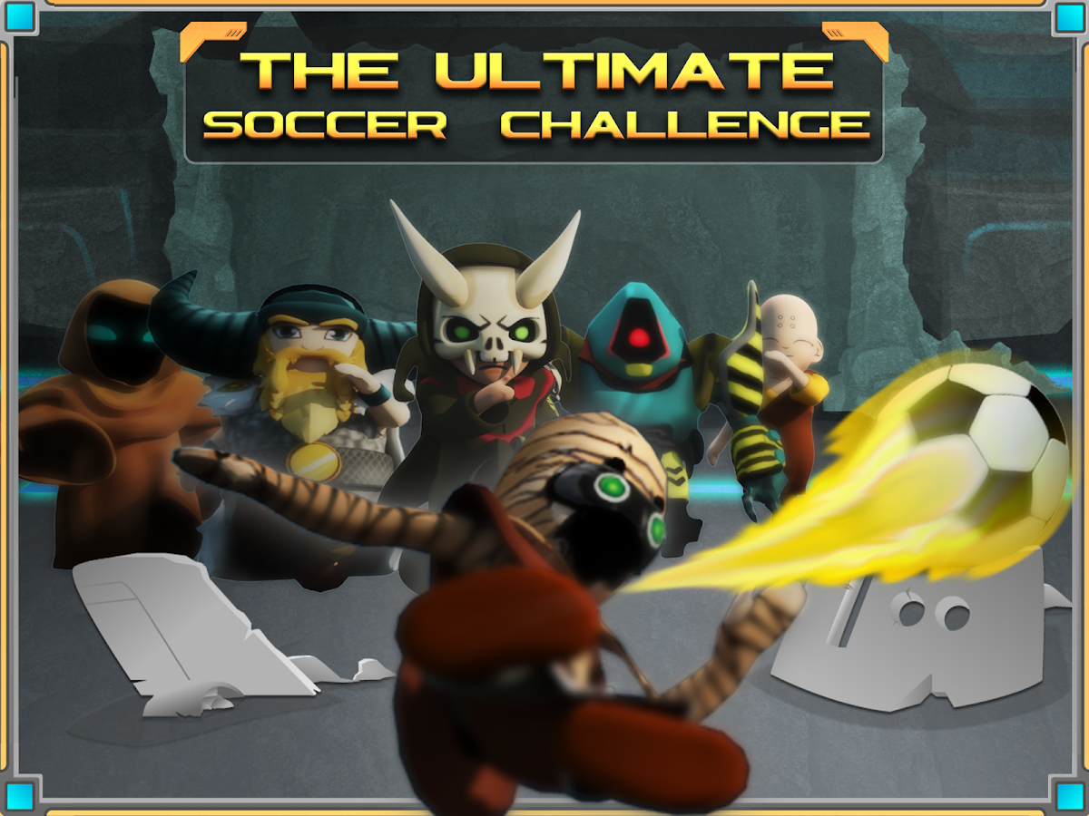 Luna League Soccer- screenshot
