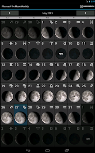 Phases of the Moon Free- screenshot thumbnail