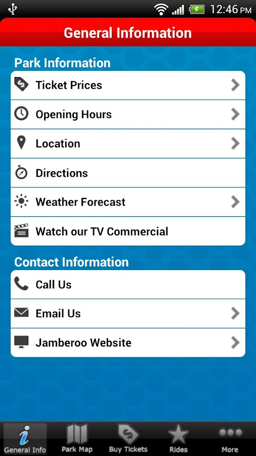 Jamberoo - screenshot