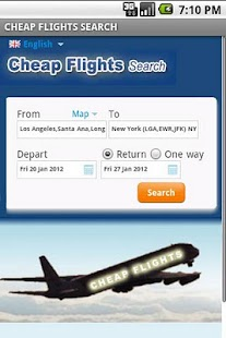 Cheap Flights Search - screenshot thumbnail