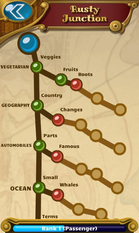 Word Train - screenshot