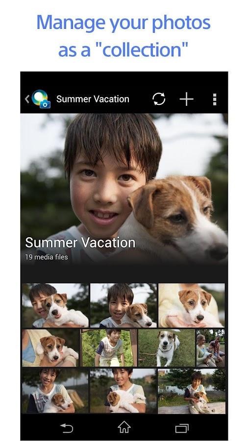 PlayMemories Online - screenshot