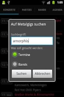 GigMeUp by Metalgigs- screenshot thumbnail