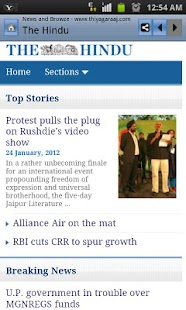 News & Newspapers India - screenshot thumbnail