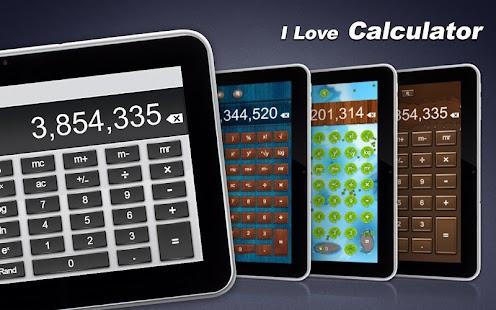 I Love Calculator Free - screenshot thumbnail