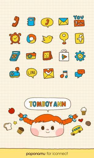 Tomboy Ann icon theme