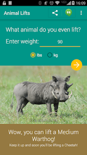What Animal Can You Lift? - screenshot thumbnail