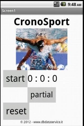 Crono Sport - screenshot