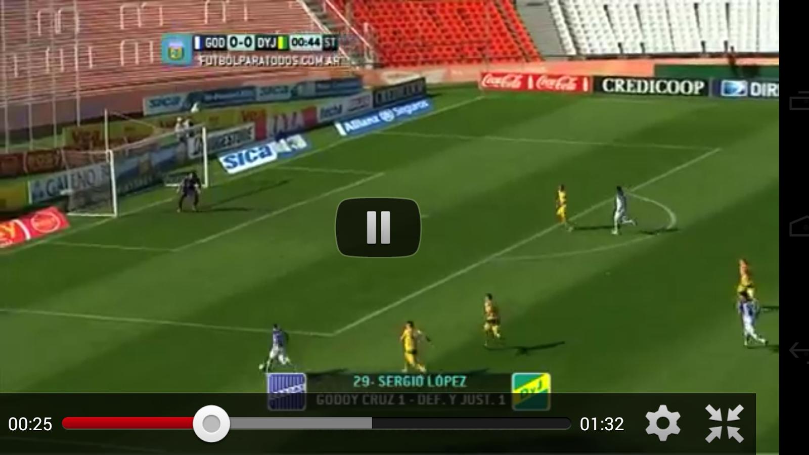 Liga Argentina de Fútbol - screenshot