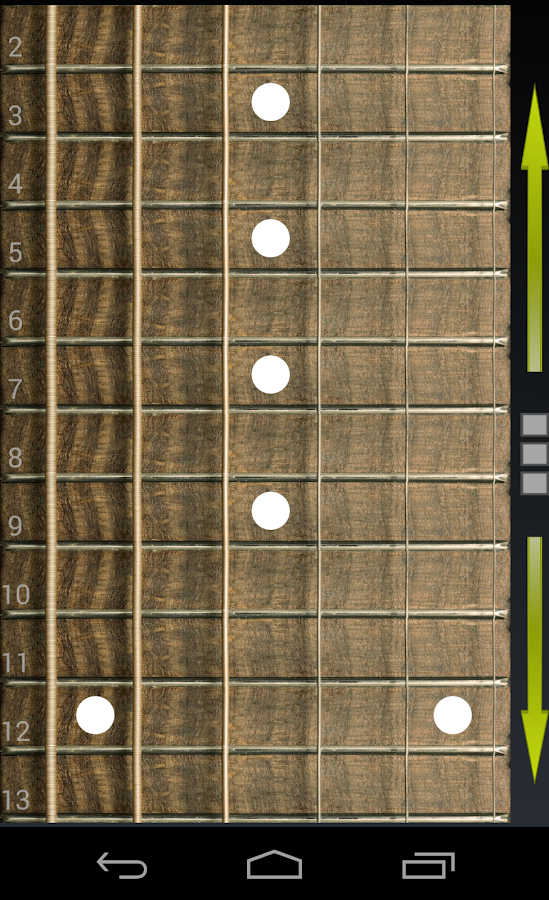 Virtual Guitar- screenshot