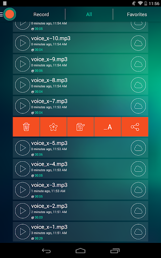Voice Recorder - Dictaphone 2.6 screenshots 19