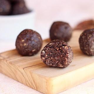 Dark Chocolate Raisinet Truffles.