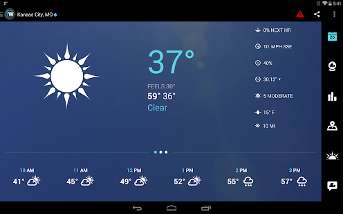 1Weather:Widget Forecast Radar Screenshot 22