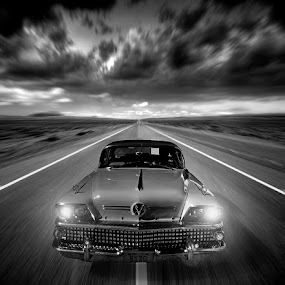 Buick Run by Elmer van Zyl - Transportation Automobiles