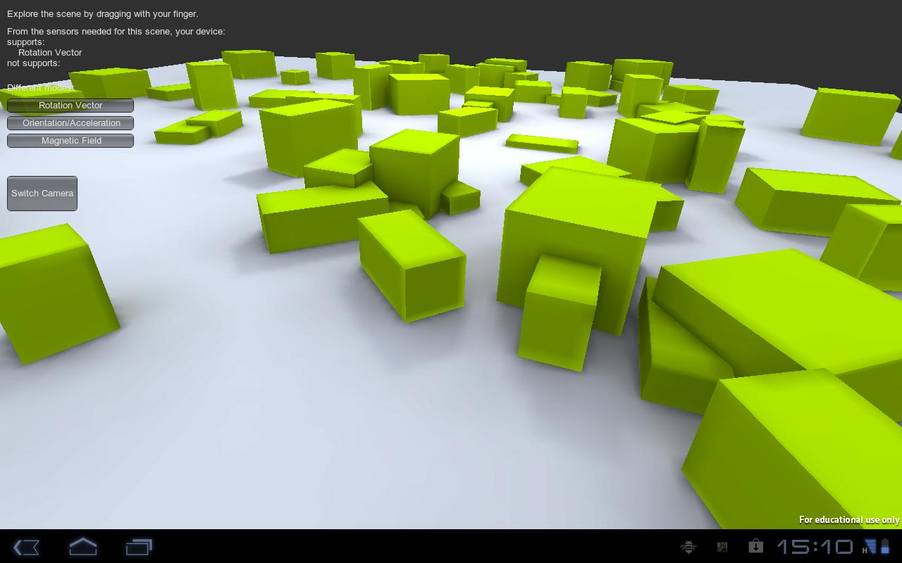 GyroDroid - screenshot