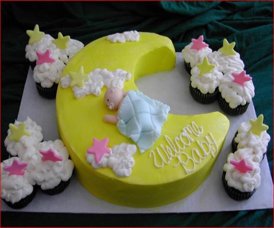 Baby shower cakes ideas android apps on google play for Baby shower decorations to make at home
