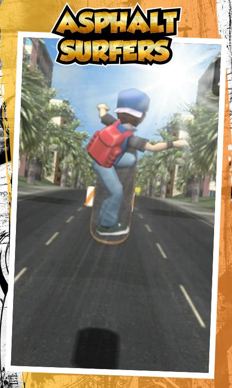 Asphalt Surfers Free - screenshot