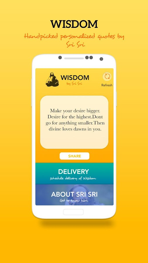 Wisdom by Sri Sri- screenshot