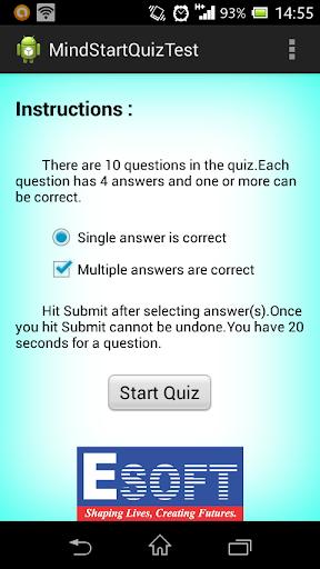 ESOFT Minds Star Quiz