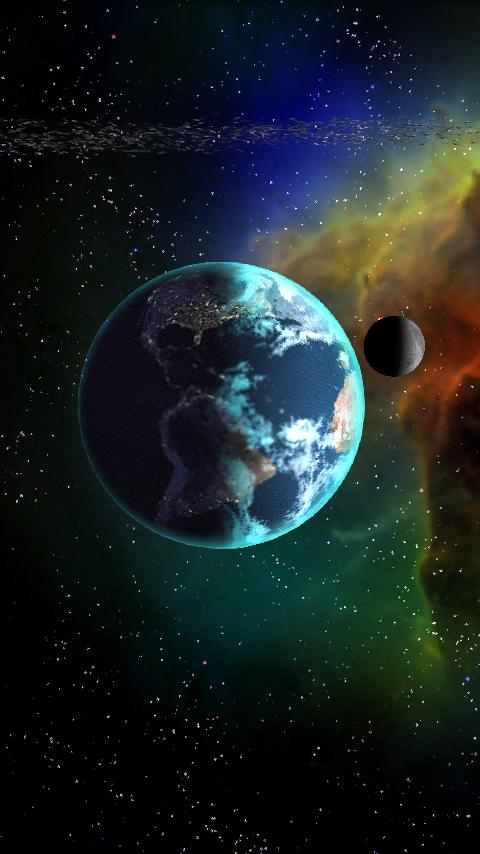 Celestial Bodies LiveWallpaper- screenshot