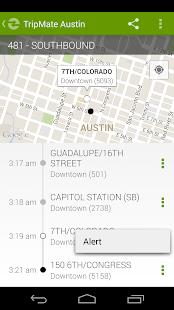 TripMate Austin Transit App- screenshot thumbnail