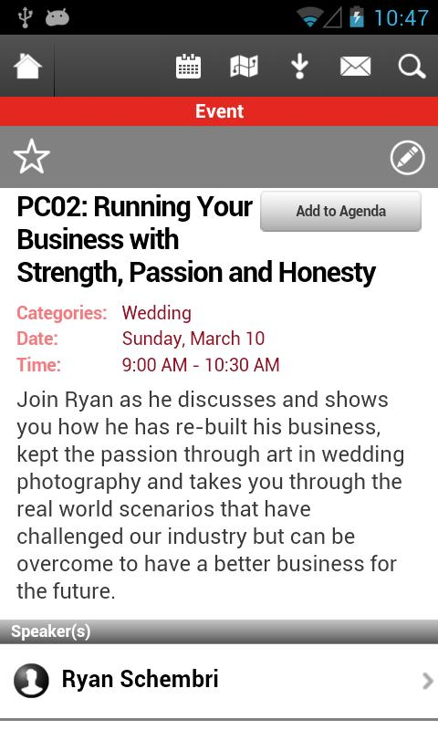 WPPI 2013 - screenshot