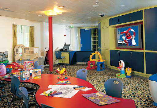 Carnival-Fascination-Camp-Carnival - Camp Carnival is a safe place for kids to play during a sailing on Carnival Fascination.