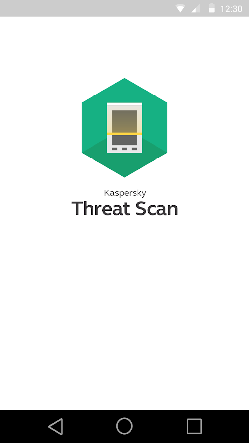 Kaspersky Threat Scan- screenshot