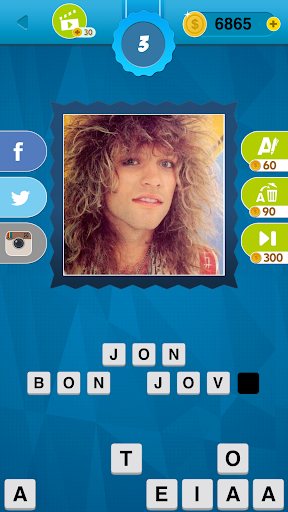 80's Quiz Game Screenshot