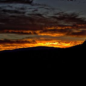 Sunset in Sedona by Sean Walker - Landscapes Sunsets & Sunrises