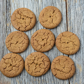 Ginger Snap Cookies.