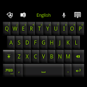 GO Keyboard Black Green Theme icon