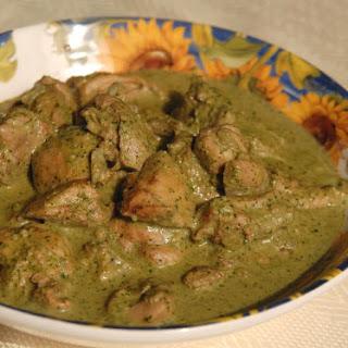 Chicken With Cilantro-mint Sauce