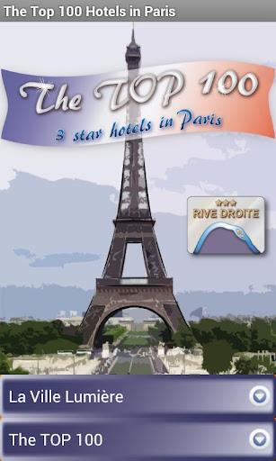 Top 100 Hotels in Paris - 3*RD