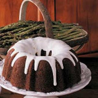 Asparagus Bundt Cake