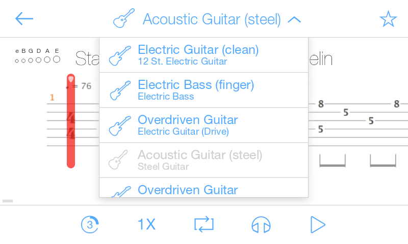 Songsterr Guitar Tabs - screenshot