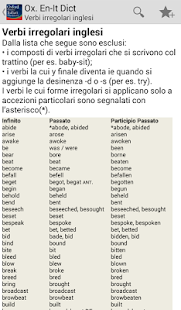 Oxford  Italian Dictionary- screenshot thumbnail