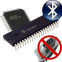Bluetooth microcontrolador icon