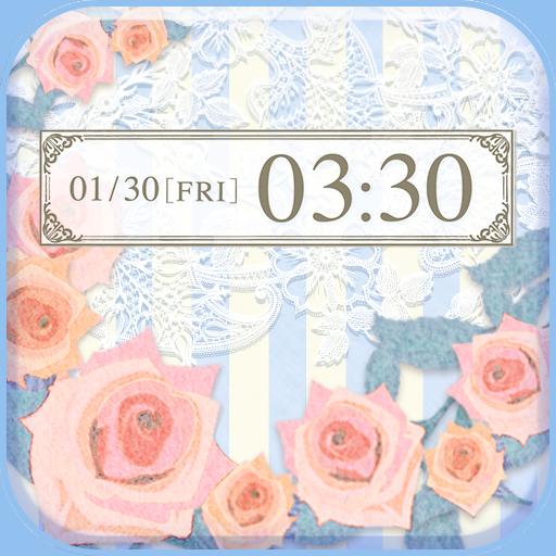 可愛換裝桌布★Girly rose 個人化 App LOGO-硬是要APP