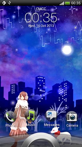 童話夜空動態壁紙