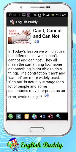 English Buddy Advanced Lessons