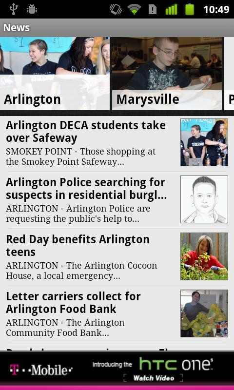 Arlington Times - screenshot