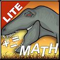 Dinosaur Park Math Lite icon
